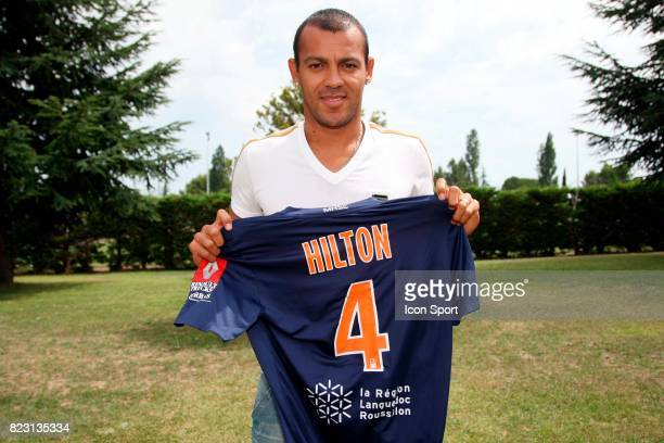 Vitorino HILTON Presentation de Vitorino Hilton nouveaux joueurs a Montpellier