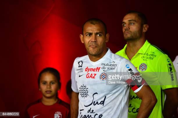 Vitorino HILTON / Laurent PIONNIER Lille / Montpellier 9e journee de Ligue 1 Photo Dave Winter / Icon Sport