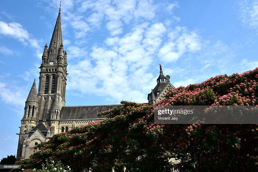Vitré church : Stock Photo