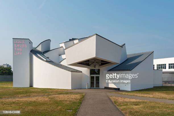 Vitra Design Museum building by Frank Gehry in Weil am Rhein, Germany.