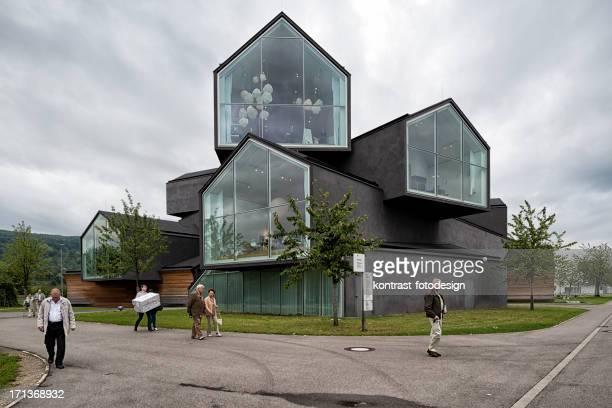 vitra ハウス、vitrahaus 、ヴァイルアムライン,ドイツ - デザイン博物館 ストックフォトと画像