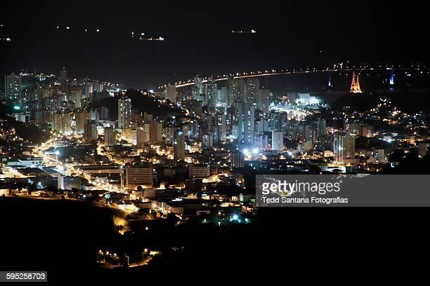Vitória City at Night