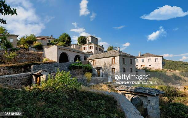 vitsa 4 - epirus greece stock pictures, royalty-free photos & images