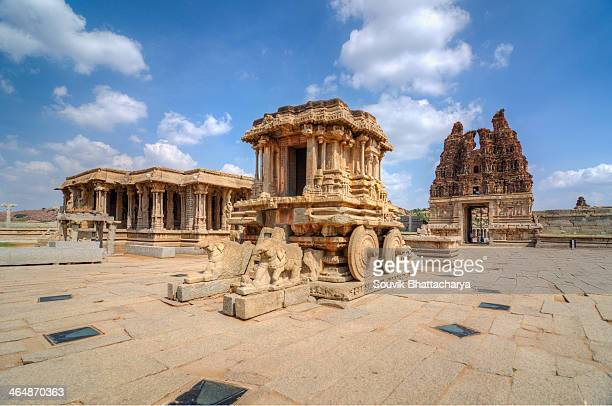 vittala temple - karnataka stock pictures, royalty-free photos & images