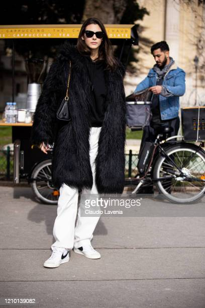 Vittoria Ceretti attends the Chanel show as part of the Paris Fashion Week Womenswear Fall/Winter 2020/2021 on March 03 2020 in Paris France