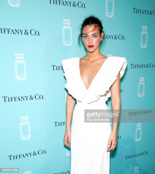 Vittoria Ceretti attends the Tiffany Co Fragrance Launch at Highline Stages on September 6 2017 in New York City