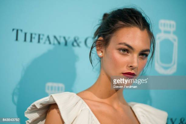 Vittoria Ceretti attends the Tiffany Co Fragrance launch event on September 6 2017 in New York City