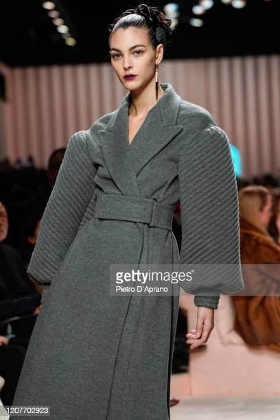 Vittoria Ceretti walks the runway during the Fendi fashion show as part of Milan Fashion Week Fall/Winter 20202021 on February 20 2020 in Milan Italy