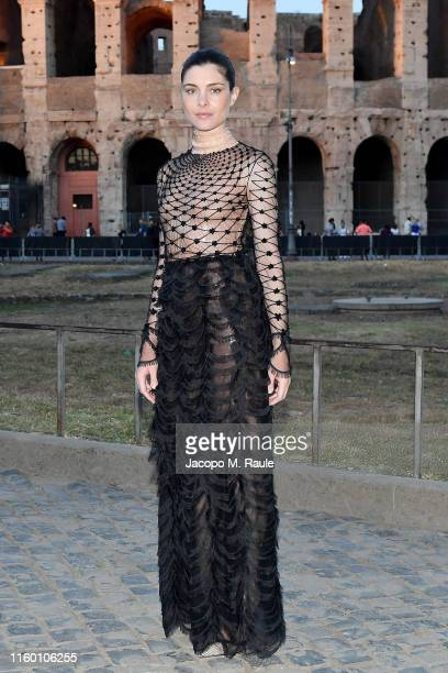 Vittoria Puccini attends the Cocktail at Fendi Couture Fall Winter 2019/2020 on July 04 2019 in Rome Italy