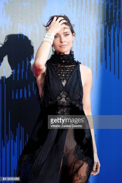 Vittoria Puccini attends the The 1st Franca Sozzani Award during the 74th Venice Film Festival at Sala Giardino on September 1 2017 in Venice Italy