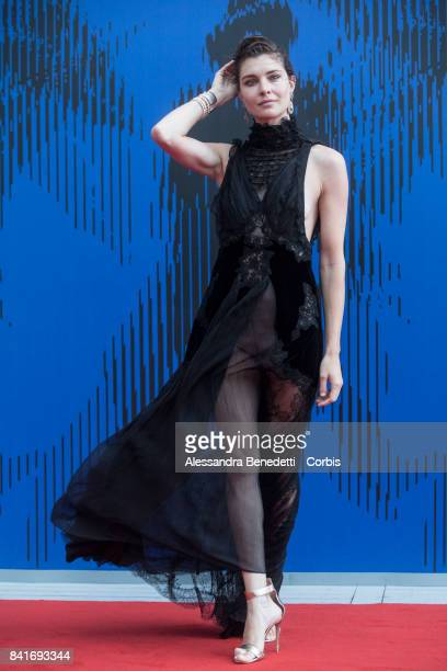 Vittoria Puccini attends the The Franca Sozzani Award during the 74th Venice Film Festival at Sala Giardino on September 1 2017 in Venice Italy