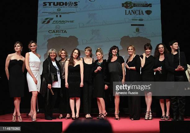 Vittoria Puccini, Christiane Filangieri, Alda Fendi, Margherita Buy,Chiara Conticini, Paola Cortellesi, Giulietta Revel, Luisa Ranieri, Monica...