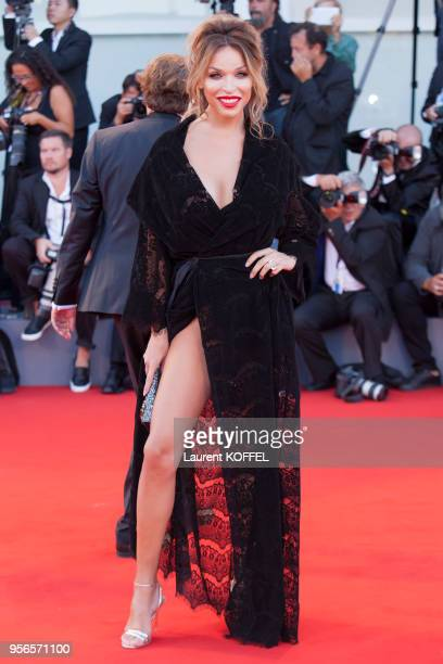 Vittoria Schisano walks the red carpet ahead of the 'mother' screening during the 74th Venice Film Festival at Sala Grande on September 5 2017 in...
