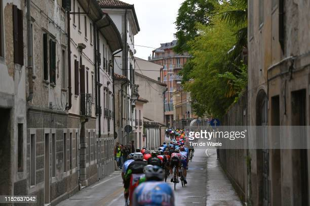 Vittorio Veneto City / Fans / Public / Peloton / Landscape / during the 102nd Giro d'Italia 2019 Stage 18 a 222km stage from Valdaora to Santa Maria...