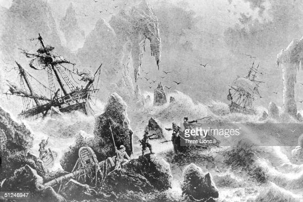 1741 Vitus Bering's ship is wrecked in the Bering Sea during his search for a passage from the Pacific Ocean around the top of the American continent...