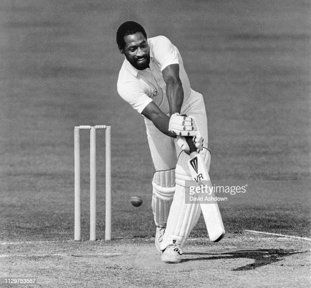 Viv Richards batting for Somerset at Taunton July 1985.