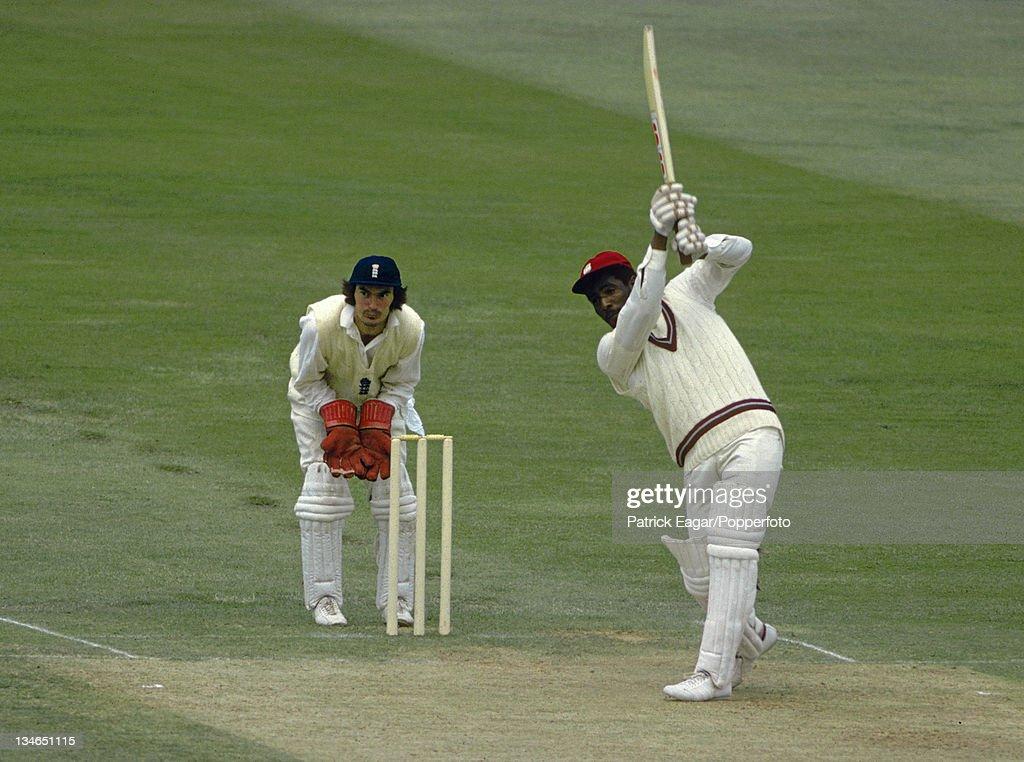 England v West Indies, 1st Test, Trent Bridge, June 1976 : News Photo