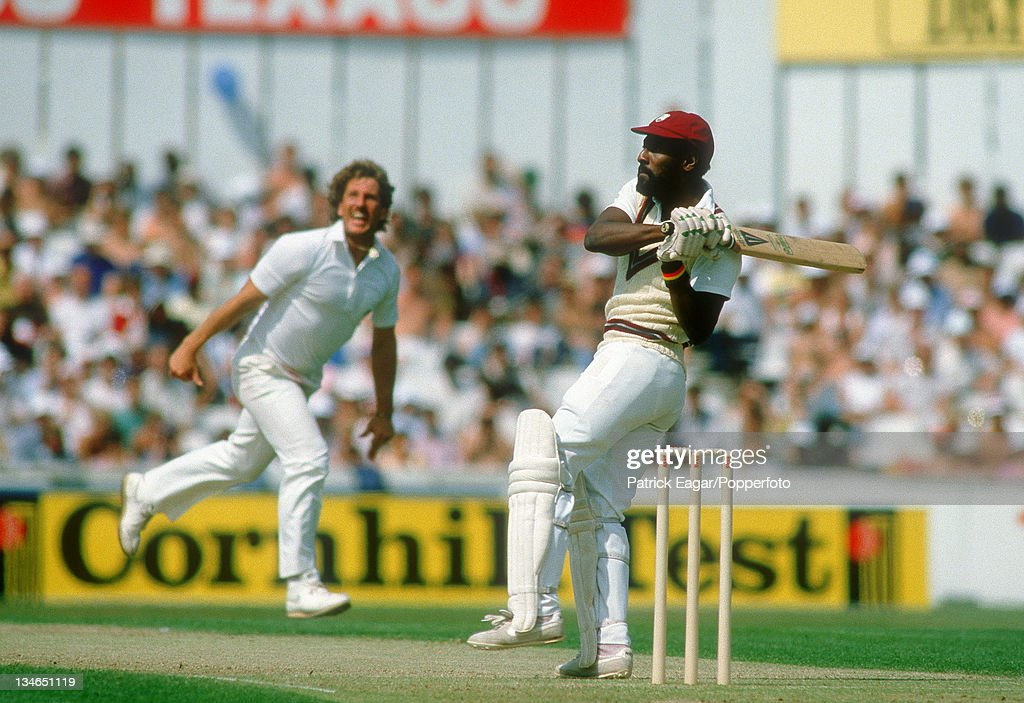 England v West Indies, 5th Test, The Oval, August 1984 : News Photo