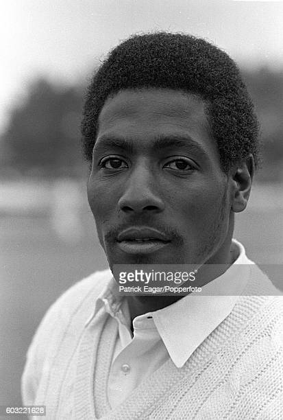 Viv Richards of Somerset during the Benson and Hedges Cup Quarter Final between Somerset and Hampshire at the County Ground, Taunton on 12th June...