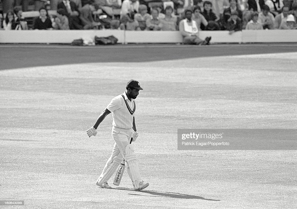 Cricket World Cup 1983, Australia v West Indies at Lord's : News Photo