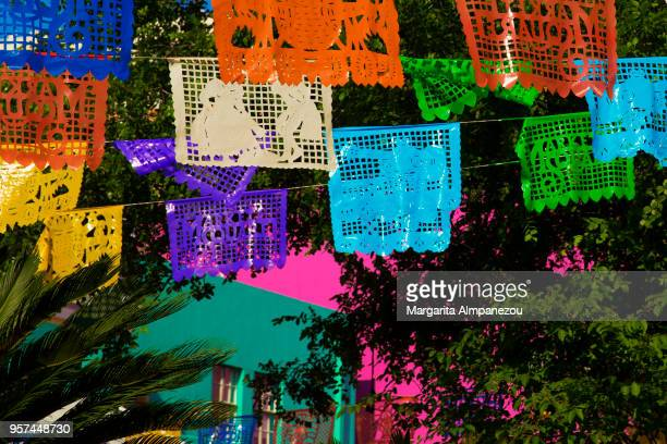 viva fiesta - san antonio texas stock photos and pictures