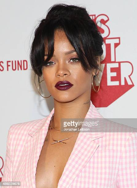"""Viva Glam Spokesperson Rihanna attends MAC Cosmetics And MAC AIDS Fund World Premiere Of """"It's Not Over"""" Film Directed By Andrew Jenks on November..."""