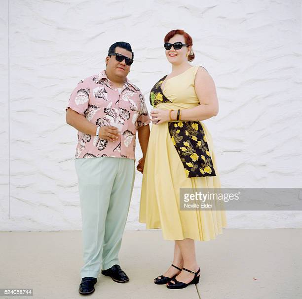 Karrisa and Javier from Claremont California'Viva Las Vegas' is an annual weekend long party held in Las Vegas Nevada in April A celebration of all...