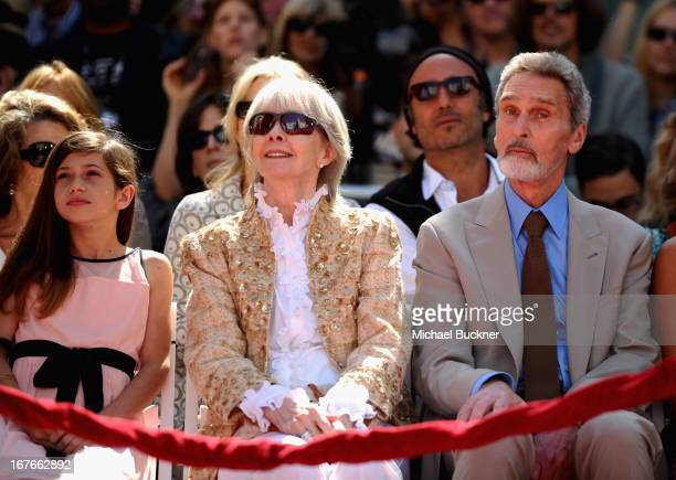 Viva Vadim Shirlee Mae Adams and Robert Wolders attend actress Jane Fonda's Handprint/Footprint Ceremony during the 2013 TCM Classic Film Festival at...