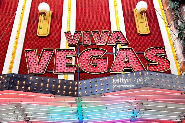 Viva Vegas Sign