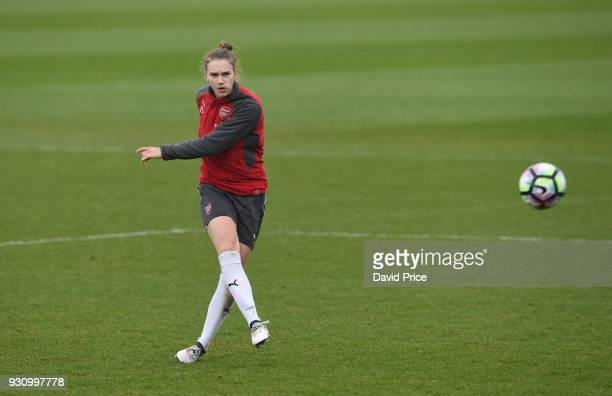 Vivanne Miedema of Arsenal during an Arsenal Women Training Session at London Colney on March 12 2018 in St Albans England