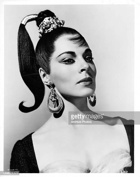 Viveca Lindfors in publicity portrait for the film 'Moonfleet' 1955