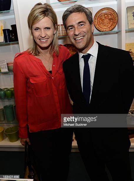 Viveca Paulin and Michael Govan attends the Director's Circle Celebration of WEAR LACMA Inaugural Designs by Johnson Hartig For Libertine And Gregory...