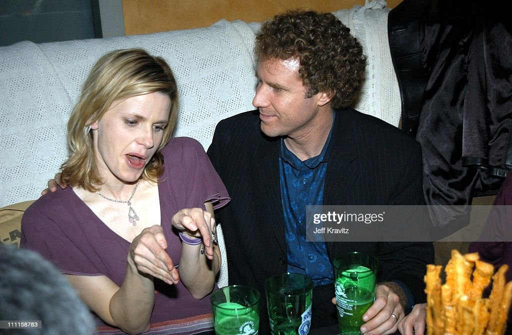 Viveca Paulin and Will Ferrell during Old School After Party at Highlands Night Club in Hollywood, CA, United States.
