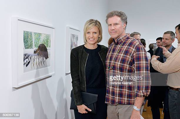 Viveca Paulin Ferrell and Will Ferrell attend MOCA's Leadership Circle Members' Opening And Artist Dinner For Catherine Opie 700 Nimes Road at MOCA...