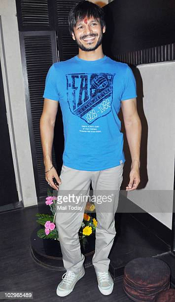 Vivek Oberoi at a charity event in Mumbai on July 16 2010