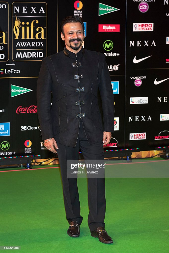 Vivek Oberoi attends the 17th IIFA Awards (International Indian Film Academy Awards) at Ifema on June 25, 2016 in Madrid, Spain.