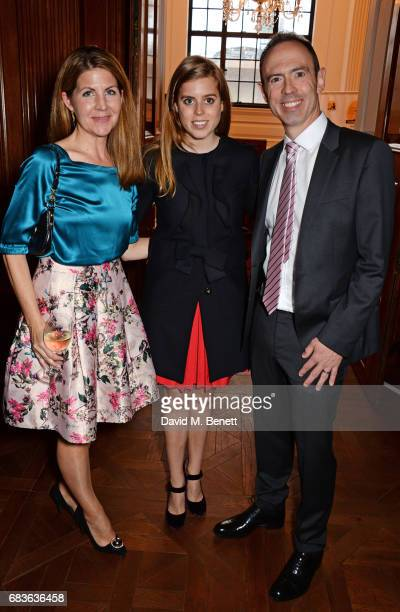 Viveka Alvestrand, Princess Beatrice of York and James Ashton attend Oscar's Book Prize 2017 in association with the London Evening Standard at The...