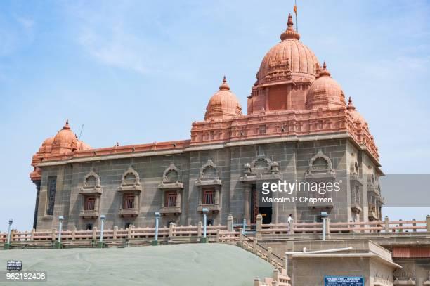 vivekananda rock memorial, kanyakumari, tamil nadu - tamil nadu stock pictures, royalty-free photos & images