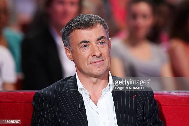 Vivement Dimanche Tv Show In Paris France In September 2010Jean Alesi