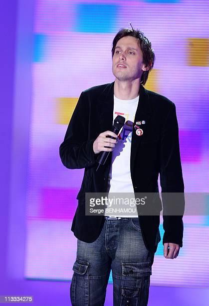 'Vivement Dimanche' Tv Show In Paris France On April 16 2008 Baptiste Charden