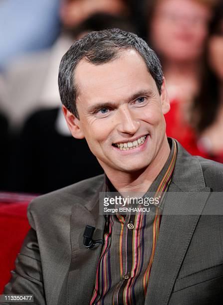'Vivement Dimanche' Tv Show In Paris France On January 14 2009 Louis Laforge