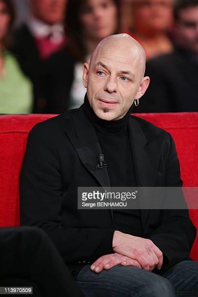 Vivement Dimanche TV Show In Paris France On January 19 2011Christian Hecq attends Vivement Dimanche Tv show in Paris France on January 19 2011