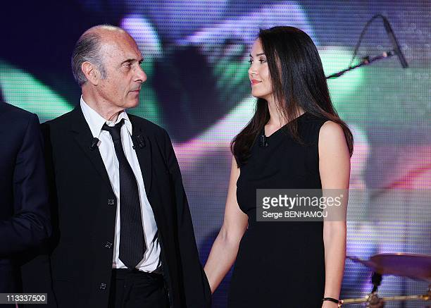 'Vivement Dimanche' Tv Show In Paris France On May 21 2008 Guy Marchand and his wife Adelina