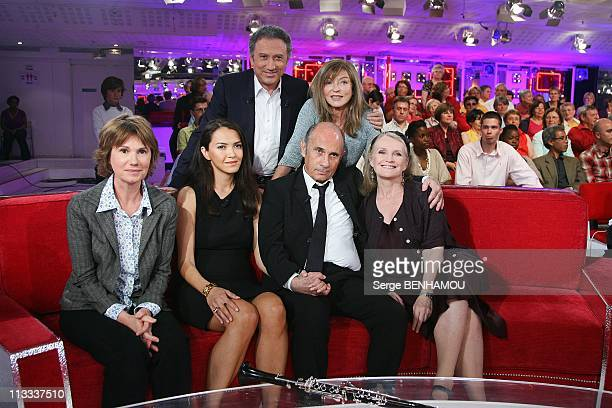 'Vivement Dimanche' Tv Show In Paris France On May 21 2008 Miou Miou Guy Marchand and his wife Adelina MarieChristine Barrault Michel Drucker...