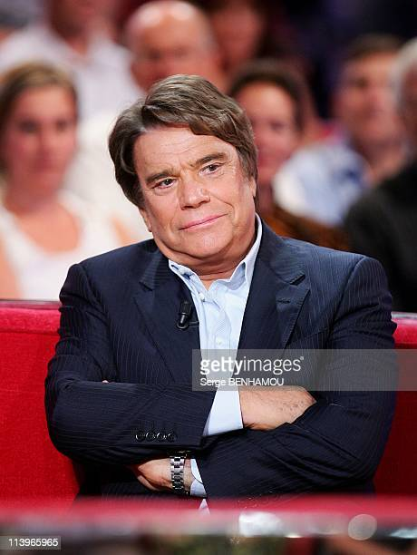 Vivement Dimanche Tv show In Paris France On September 15 2010Bernard Tapie