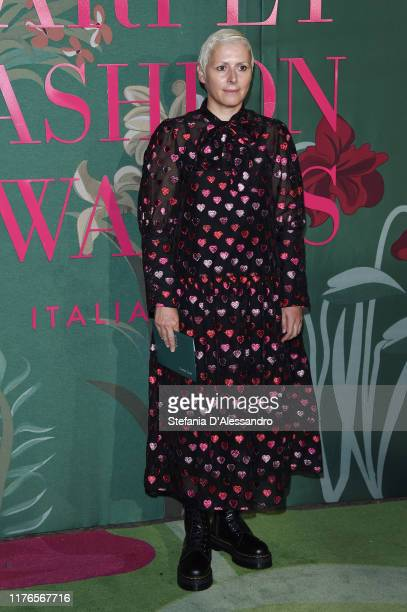 Vivetta Ponti attends the Green Carpet Fashion Awards during the Milan Fashion Week Spring/Summer 2020 on September 22, 2019 in Milan, Italy.