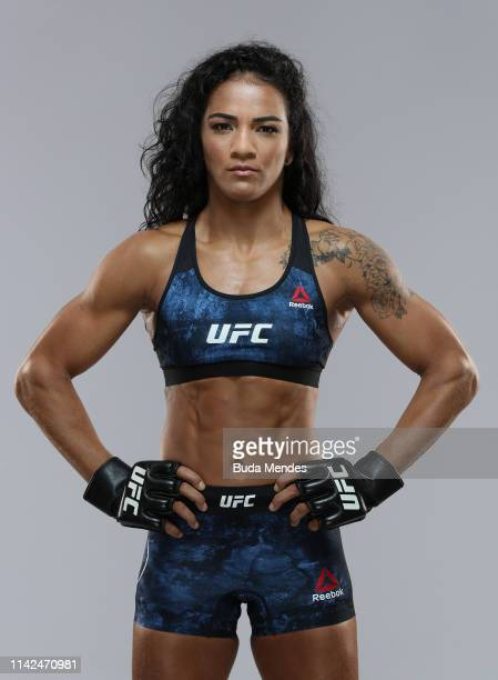 Vivi Araujo of Brazil poses for a portrait during a UFC photo session on May 09 2019 in Rio de Janeiro Brazil