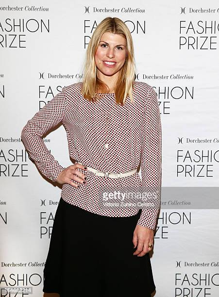 Vivia Ferragamo attends the Italian Launch of the 2013 Dorchester Collection Fashion Prize at Hotel Principe on March 26 2013 in Milan Italy