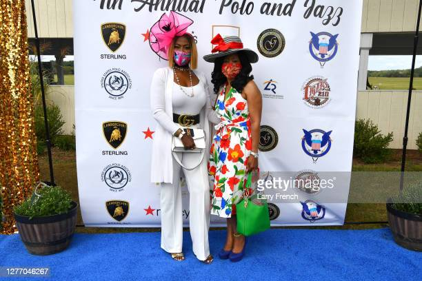 Vivian Agbakoba and Janette Arogundade appear at Grandiosity Events 4th annual Polo & Jazz celebrity charity benefit hosted by Real Housewives of...