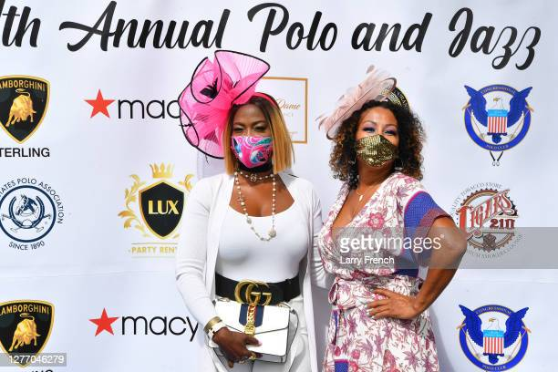Vivian Agbakoba and Susan Smallwood, producer of Grandiosity Events Cigars & Guitars Charity Polo & Jazz charity event appear at Grandiosity Events...